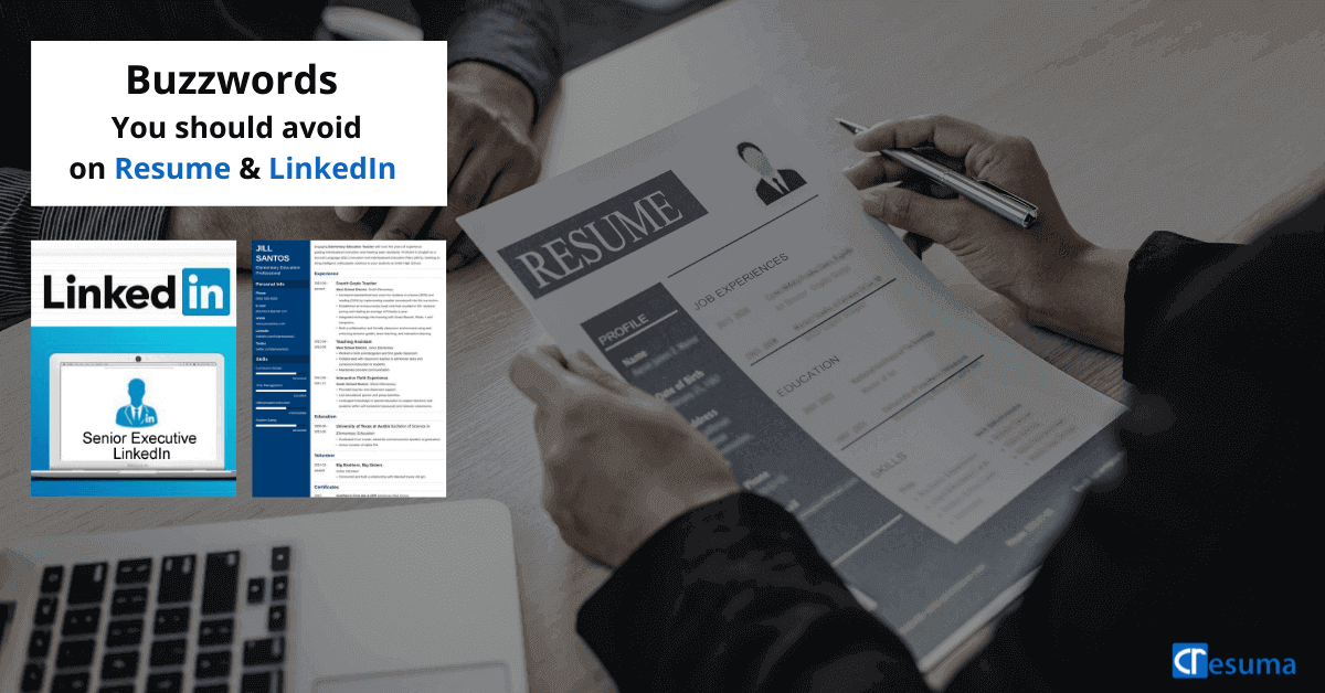Resume buzzwords to avoid on resumes & LinkedIn